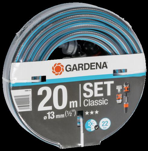 Gardena Classic Schlauch 13mm 1/2 20 m mit Zubehör