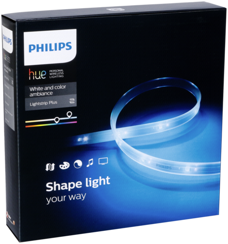 Philips Hue LightStrip Plus Basis LED Starter Set 2m