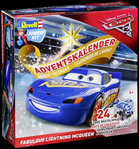 Revell Adventskalender Cars 3 Lightning McQueen
