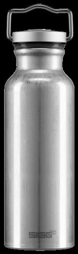 Sigg Trinkflasche alu ORIGINAL 0,5L silber