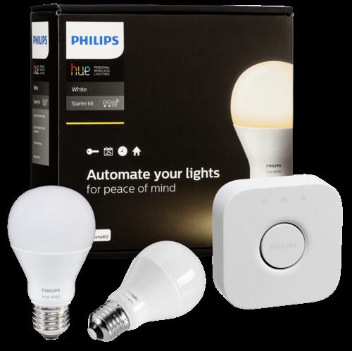 Philips Hue LED Lampe E27 Starter Set weiß