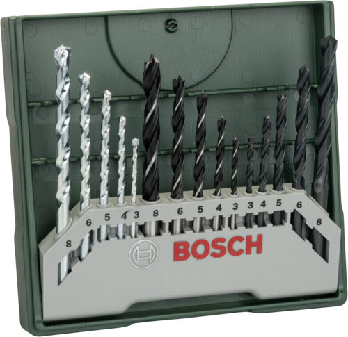 Bosch Mini-X-Line 15-tlg. Mixed-Set