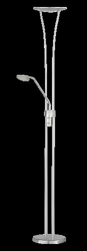 WOFI LED Standleuchte VITRO 2flg 1x18W 1600lm / 1x5W 400lm