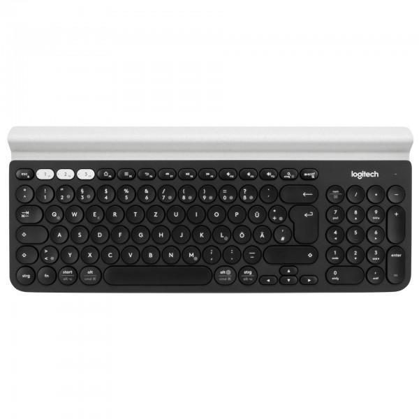 Logitech Keyboard K780 Multi-Device Wireless Black/White