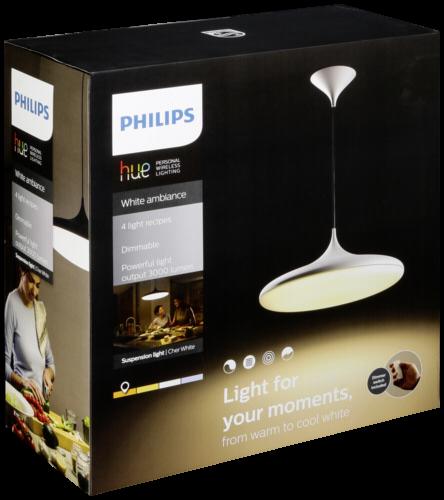 Philips Hue Cher LED Pendelleuchte weiß