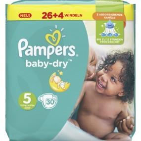 Pampers Windeln Baby Dry Größe 5 Junior (11-16kg)