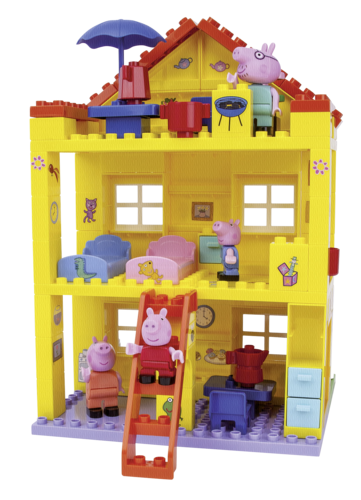 BIG PlayBIG Bloxx Peppa Pig Peppa House