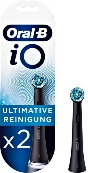 Braun Oral-B iO Ultimative Reinigung 2er Aufsteckbürsten schwarz