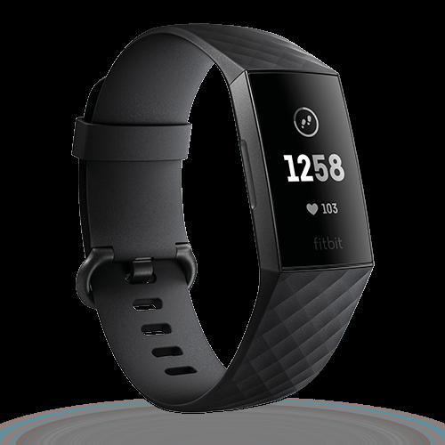 Fitbit Charge 3 graphit/schwarz