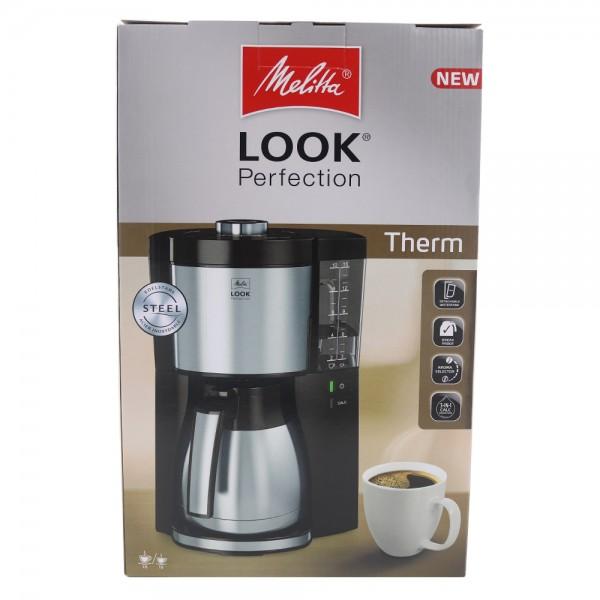 MELITTA 1025-16 Look V Therm Perfection Kaffeeautomat schwarz-Edelstahl