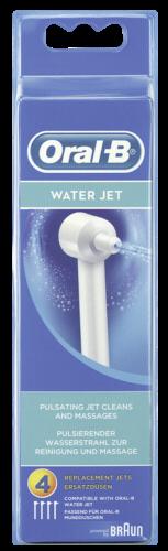 Braun Oral-B Ersatzdüsen Water Jet 4er