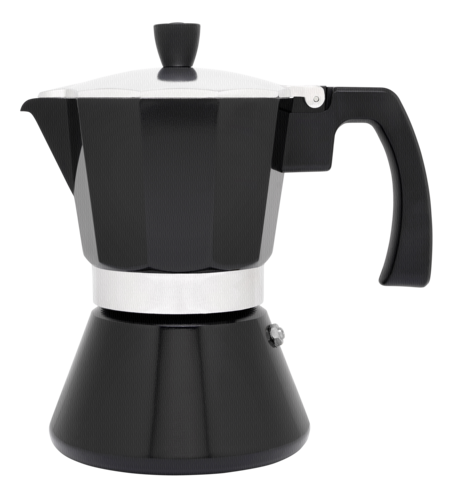 Leopold Vienna Espressokocher 6 Tassen/sw./Induktion LV113008