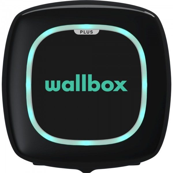Wallbox Pulsar Plus schwarz 11kW, Type 2, 5m Kabel OCPP