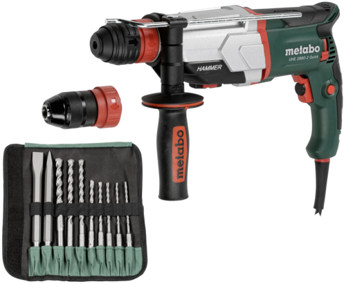 Metabo UHE 2660-2 Quick Set Kombihammer