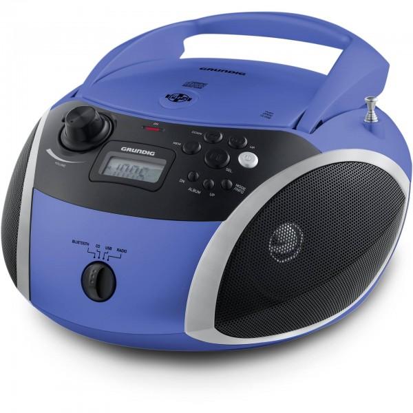 Grundig GRB 3000 BT blau/silber
