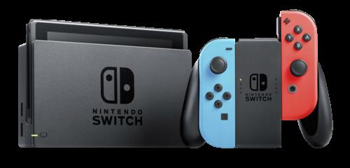 Nintendo Switch Neon-Rot / Neon-Blau