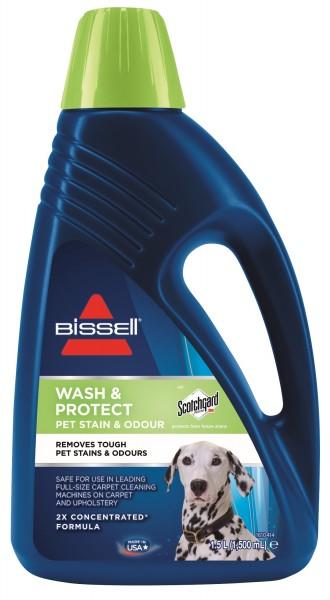 BISSELL Wash & Protect Pet 1,5L Reiniger Scotchgard Haustier