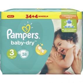 Pampers Windeln Baby Dry Größe 3 Midi (6-10kg)