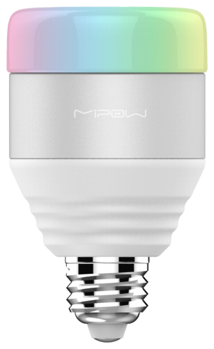 MiPow Playbulb Smart LED E27 5W (40W) RGB Lampe weiß