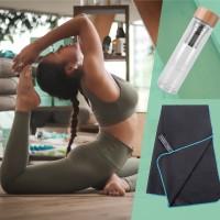 freigeist Yogaset Energie tanken: Teeflasche + Handtuch
