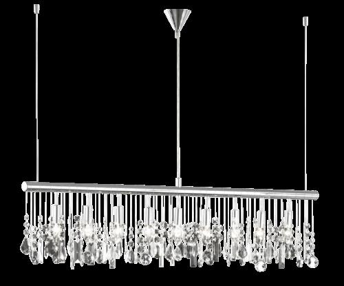 WOFI LED Pendelleuchte CRYSTAL exkl. 9xE14 40W