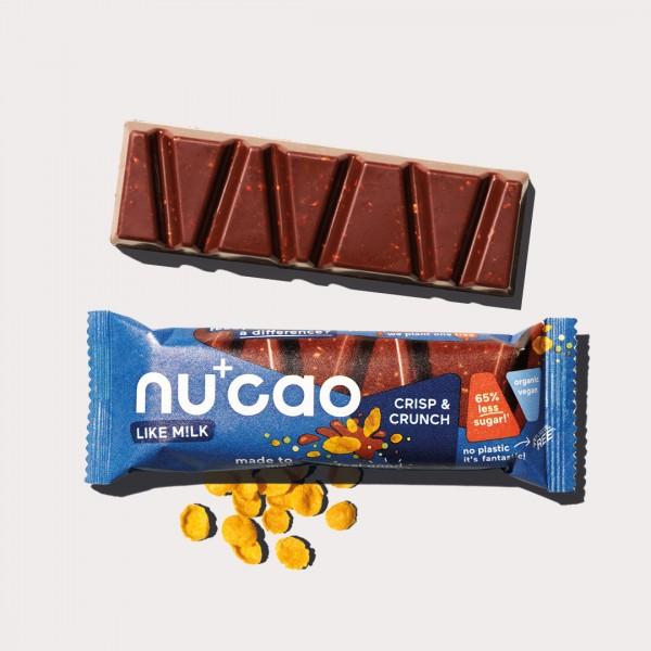 nucao - Crisp & Crunch - Riegel 40g